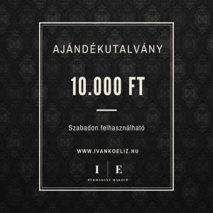 Ajándékutalvány – 10.000 Ft