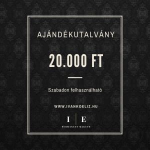 Ajándékutalvány – 20.000 Ft