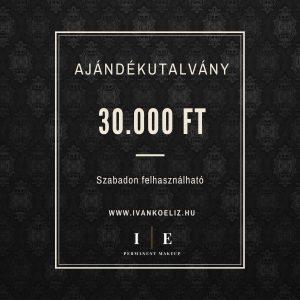 Ajándékutalvány – 30.000 Ft