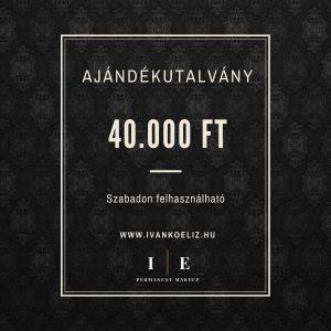 Ajándékutalvány – 40.000 Ft