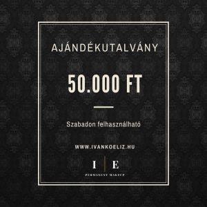 Ajándékutalvány – 50.000 Ft